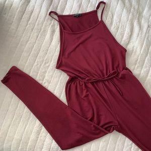 AMBIANCE   Jumpsuit/Romper (burgundy)